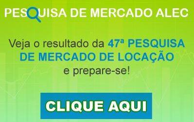 47ª Pesquisa de mercado de locação de equipamentos ALEC – Abril 2020