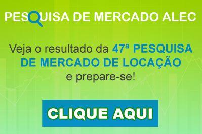 Resposta 47ª Pesquisa de mercado de locação de equipamentos ALEC ABRIL 2020